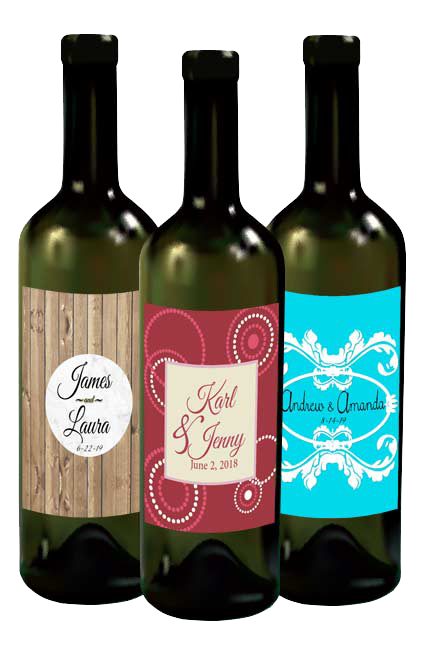 Wedding Bottle Labels