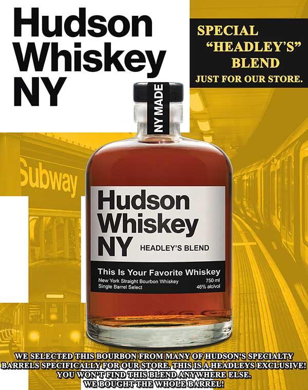 Hudson Bourbon Whiskey